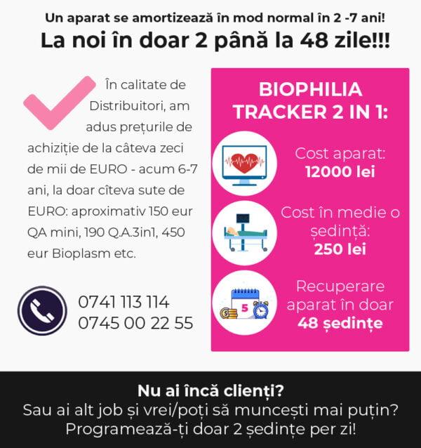 biophilia tracker pareri